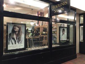 Blade Signs custom storefront outdoor vinyl window projecting sign 300x225